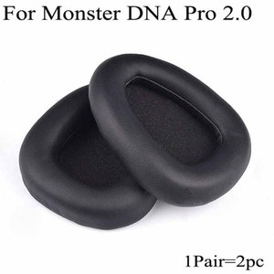 Per DNA PRO 2.0 per cuffie Earpad Cuscino Replacement Protein Leather Ear Pad paraorecchie Paraorecchi Monster 2 Headset