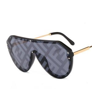 2019 패션 광장 선글라스 여성 브랜드 디자이너 대형 그라디언트 성격 샴 태양 안경 UV400 12 색 선택