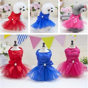 Neue Hund Kleidung Kleid Sweety Prinzessin Kleider Teddy Puppy Brautkleider Fot Hund Kleine Mittelgroße Hunde Pet Zubehör Pet Hochzeitskleid