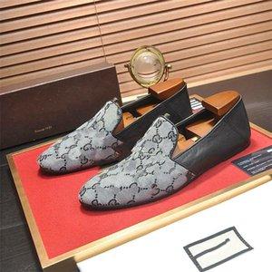 gucci shoes Gentleman-Partei-Hochzeit Kleid Dandelion Oxfords Wohnung Herren Business Slip On Red Bottom Man Loafer Designer Schuhe