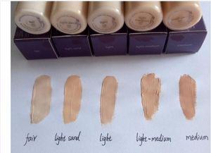 Top Quality Shape Tape Contour Concealer 5 colors Fair Light Light medium Medium Light sand 10ml Liquid Foundation In Stock Dropshipping