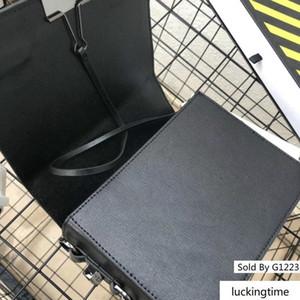 Scultura Spegni Bag Strap Giallo clip display spalla Solo Borse Nero Bianco Stripes Trend della confezione