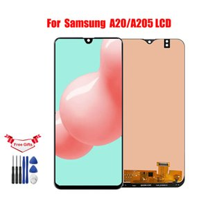 6.4 '' LCD For Samsung A20 A205 SM-A205F A205FN l lcd display screen Digitizer Assembly For Samsung A20 A205