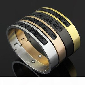 Brand Bijoux Stainless Steel Rose Gold Mont bracelets for women Resin cuff bangles Genuine Titanium Steel men Bracelets For Male bangles