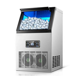 Ghiaccio automatico che fa macchina commerciale Ice Cube Maker Small Business macchinari Ice Ball Machine per il negozio Milk Tea Bar caffè