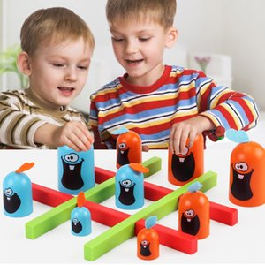 Toy Partito Family Fun Gobblet Gobblers Board Game Gobble voi modo di 3 in una strategia di fila gioco educativo