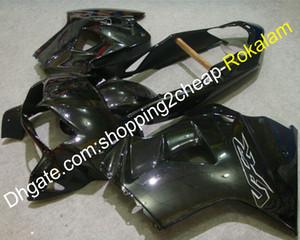 Para carenados Honda VFR800 98-01 VFR 800 VFR-800 98 99 00 01 1998 1999 2000 2001 Todo el cuerpo negro Body Body Carenado