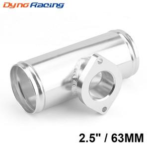 """63mm 2.5"""" Bride de tuyau en aluminium Turbo Pour FV BOV Blow Off RZ Adaptateur Valve L = 150mm TT100379"""