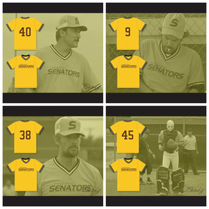 Custom King Bill Lee Larry Joe Cartwright Gino Lapue Longueuil Senators Beer League Baseball Jersey Spaceman