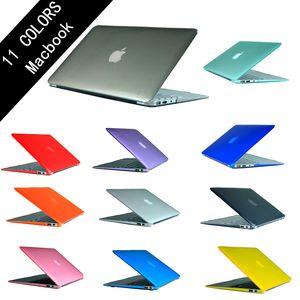 새로운 크리스탈 케이스 애플 맥북 에어 프로 레티 나 11 12 13 15 16 인치 케이스에 터치 바 A1932 새로운 프로 16 A2141와