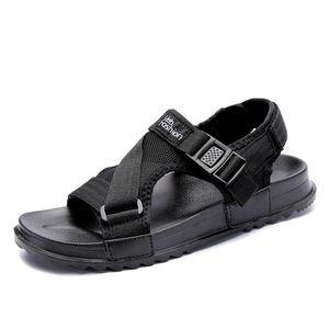 Sıcak Satış-2019 A Kelime Drag Kaymaz Plaj Ayakkabı Of Summer Yeni Stil Sandalet Erkek Kore Sürüm Casual Açık