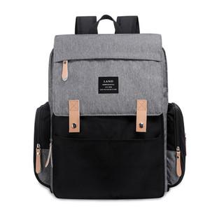 New Mommy Backpacks 방수 내피 가방 어머니 출산 기저귀 배낭 대형 볼륨 야외 여행 가방 주최자 토트 백 C5711 3 색