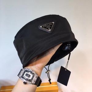 del nuevo del negro puro diseñador de la mujer para hombre del casquillo de la manera Marca Tacaño Brim sombreros respirable ocasional Equipada sombreros de la playa de calidad superior