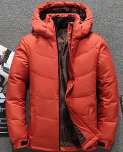 Homens com capuz Designer Down Jackets Design de moda quente e grosso Outdoor Casual Mens Down Jacket Mens Apparel