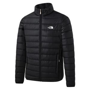 2019 outono e inverno nova desportos de lazer ao ar livre das mulheres dos homens e quente de moda casaco jaqueta fina para baixo