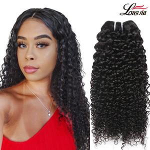 Grau 8A Extensões de Cabelo Humano Encaracolado Kinky Atacado Virgem Malaio Kinky Encaracolado Weave Bundles Brasileira kinky curly cabelo humano feixes