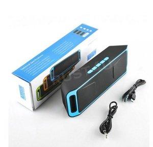 YENİ SC208 SC208 Mini Taşınabilir Bluetooth Hoparlör Kablosuz Akıllı Eller serbest Hoparlör Büyük Güç Subwoofer Destek TF ve USB FM Radyo