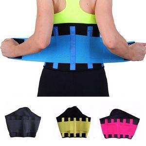 Cinturón de la aptitud de las mujeres Cincher Cintura Trimmer Corsé Ventilar Ajustable Tummy Trimmer Entrenador Cinturón de pérdida de peso que adelgaza 20pcs