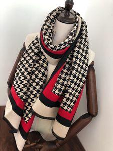 Designers de novo outono e inverno cachecóis lenços de cashmere projetados de alta qualidade, macio, quente e lenços xale multi-funcional