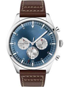 2020 neues Modell Herren Analog-Quarz-Uhr mit Lederband 1513709