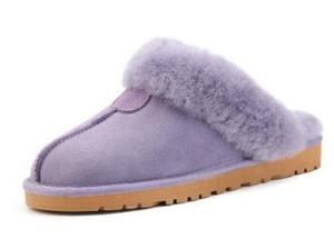 Hot classiche da uomo Donne Warm pantofole di alta qualità pelle di capra Cowskin Snow Boots scarpe Donne tenere in caldo Scarpe Pantofole
