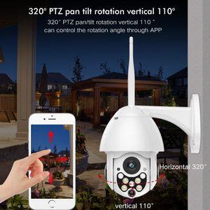 Скоростная купольная Mini высокий 3,5 дюйма Скорость PTZ Авто слежения CCTV IP купольная 10x ZOOM 1200TVL Свободная перевозка груза