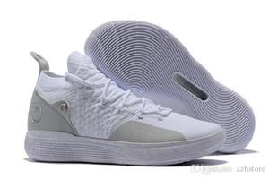 Yeni Örgü KD11 Basketbol Ayakkabıları Kevin Durant 11 s Yakınlaştırma mens koşu Atletik kapalı ayakkabı lüks KD XI Elite Düşük spor Sneakers