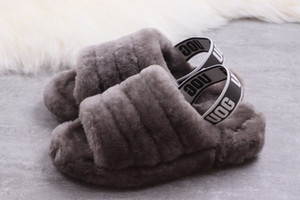2019 Качественная мода Trend Trend одиночные бархатные сандалии и тапочки дизайн, случайные тапочки, мягкие и удобные 36-41