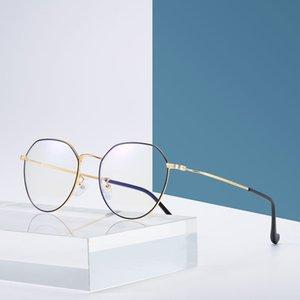 Bilgisayar gözlük moda altın çerçeve radyasyon gözlük moda büyük kutu parlama önleyici erkekler kadınlar radyasyondan korunma gözlük mobil bilgisayar