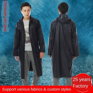One-day high quality nylon thickened long raincoat male and female adult jumpsuit Coat clothing Body clothes body clothes
