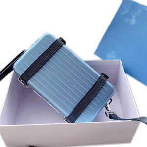 상자 경량 알루미늄 - 마그네슘 Dior 합금 재료로 만들어진 남성과 여성 핸드백, 어깨에 매는 가방 지갑 크로스 바디 백,