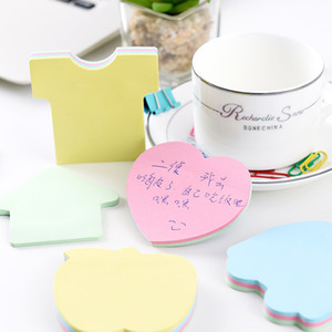 100Papers Cute Kawaii Tabs Sticky Notes Memo Pad papelaria Memo Pads Sheets Post It Bloco de Notas Estacionárias Decoração de Escritório Note Pad