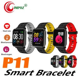 1 PCS Smart Bracelet Fitness Tracker Heart Rate Blood Pressure fitness band smart wristband Bluetooth IP67 Sports Bracelet