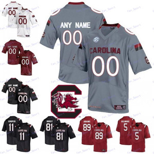 Personalizzato South Carolina Gamecock del calcio Jersey College di Ryan Hilinski Rico Dowdle Tavien Feaster Bryan Edwards Shi Smith Kyle Markway