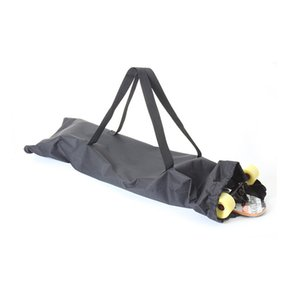 Length 47in Longboard Skateboard Shoulder Backpacks Waterproof Wear-resistant Fiber Cloth Carrying Bags With Drawstring