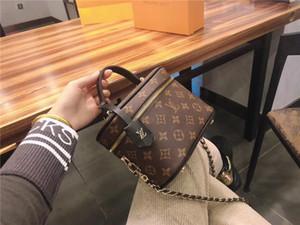 Designer en gros de haute qualitéLVfemmes sac cosmétique sac à bandoulière en cuir véritable luxe Sacs à main Sacs à main Lady Tote Box
