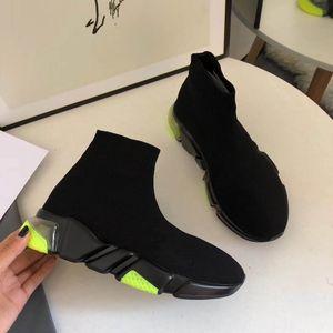 nuove scarpe dello stilista scarpe da uomo extra leggero calzini SPEED SNEAKERS 3D Stretch maglia SPEED CLEARSOLE Cancella Sole sole ultra-flessibile