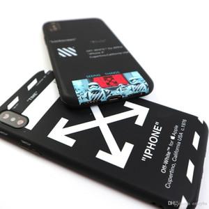Nueva funda de silicona suave fasjion letter stripes para iphone 6 6S S plus 7 7plus 8 8plus X XR XS MAX cubierta posterior teléfono couqe capa