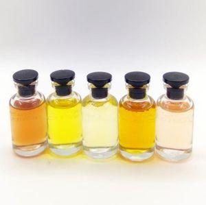 top Parfums Set IV Lady fragrância 5 cheiro tipo de perfume 10ml 5pcs por Mulheres quente Marca Perfume Set epacket navio livre