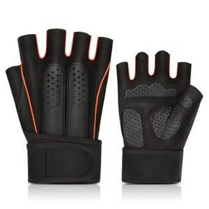 Loogdeel Professional Gym Fitness Gloves Power Weight Lifting Fingerless Crossfit Workout Bodybuilding Glove Sports Equipment
