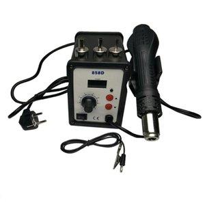 Electric Soldering Iron Hot Air Gun Solder Kit Repair Tools Dual-use Soldering Station Rework Station Digital Display
