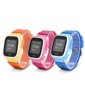 Wholesale GPS Q90 Touch Screen WIFI Smart Watch Children SOS Call Location Finder Device Tracker Kid Safe Anti Lost Monitor free shipping