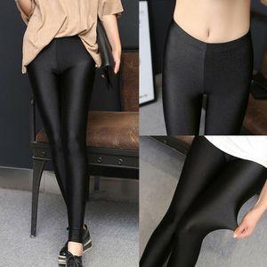 Women Casual pantaloni a matita pantalone skinny Leggings elastica palestra a vita alta matita Jeggings Pants