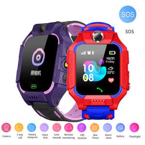 Q19 Bambini astuti Guarda LBS Location impermeabile Smartwatch bambini Baby Watch Q88 SOS Camera bidirezionale di chiamata vocale Anti perso