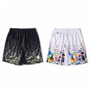 19SS Bape Mens Shorts Styliste Hommes d'été Mode de plage Pantalons Hommes Loose Women Pantalon court M-2XL