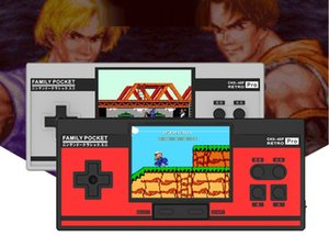 3inch ekran Pro Taşınabilir El Oyunları 2 Oyuncu Ailesi 348 AVG RPG ACT FC C3 LD LB LA CHX-40P TV Out destekler NES