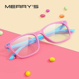 Мерри Дети против синий свет Блокировка очки Мальчик Девочка Компьютер Gaming очки Blue Ray S7103