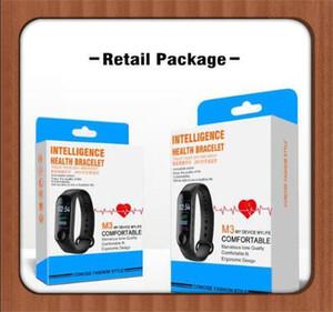 M3 смарт-браслет Браслет сердечного ритма часы активности фитнес-трекер pulseira Relógios reloj inteligente DHL 2019