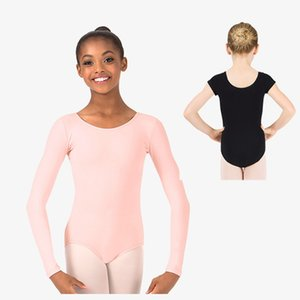 ballerina cotton long sleeve dance leotard ballet leotards for girls gymnastic leotard for kids camisole tank