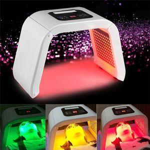 TM-LM013 4 LED 빛 얼굴 마스크 PDT 광자 치료 광 역학 바디 피부 아름다움 얼굴 피부 회춘 여드름 치료 살롱 기계